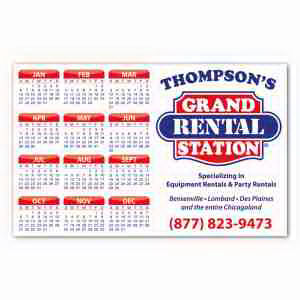 Promotional Magnetic Calendars-