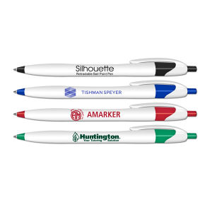 Promotional Ballpoint Pens-0319-BLUE-INK
