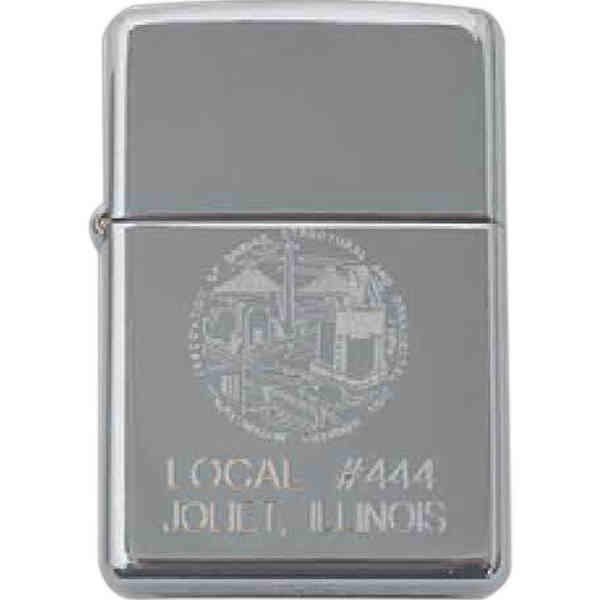 High polish chrome lighter,