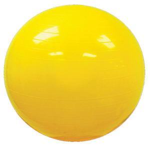 Vinyl exercise gym ball;