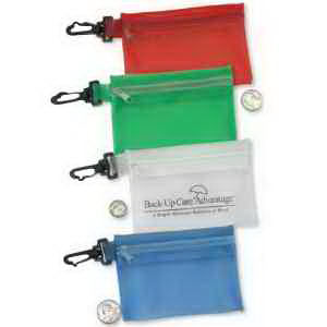Promotional Vinyl ID Pouch/Holders-FUN540