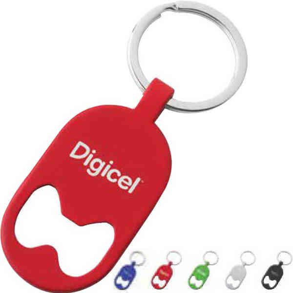 Bottle opener brass key