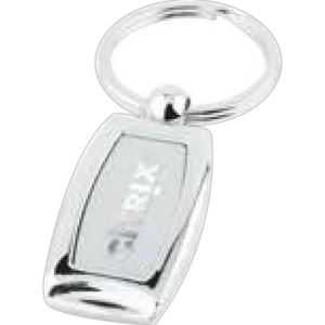 Polished chrome curved key