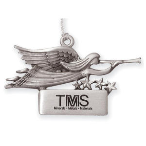 Stock pewter finish angel