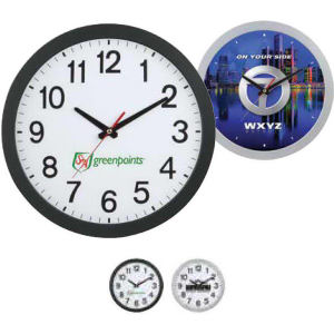 Wall clock with slim