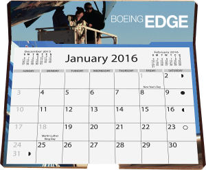 Promotional Wall Calendars-EDC14