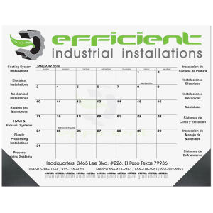 Promotional Calendar Pads-DDP1B