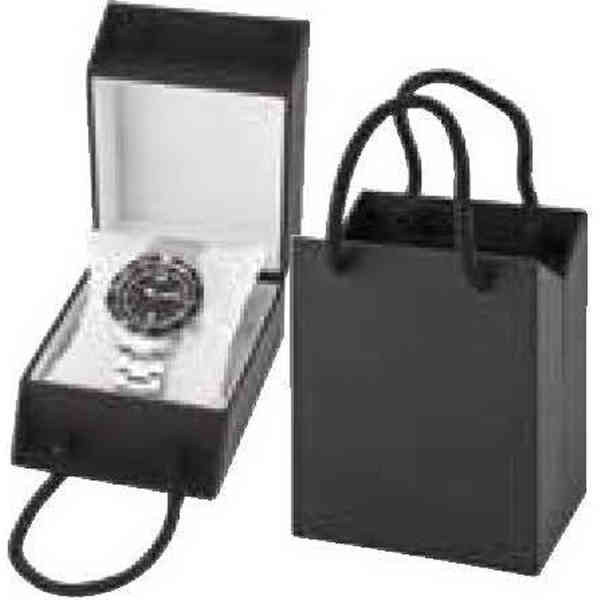 Black gift box with