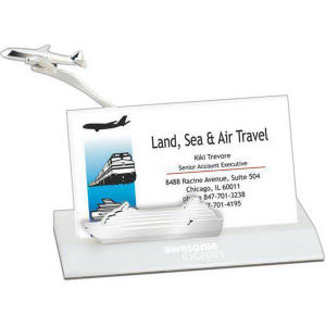Business card holder, airplane