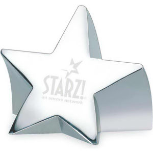 Paperweight, star shaped nickel