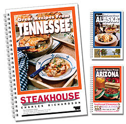 Promotional Cookbooks-RB States