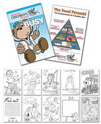 Promotional Coloring Books-5703004U