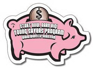 Magnet - Piggy Bank