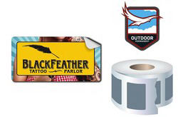 Promotional Labels, Decals, Stickers-WST0201WP