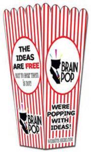 Paper Popcorn Style Box