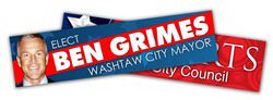 Promotional Bumper Stickers-2003005V