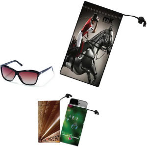 Sunglass/cell phone microfiber cloth