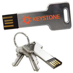 Promotional USB Memory Drives-Keystone-2GB