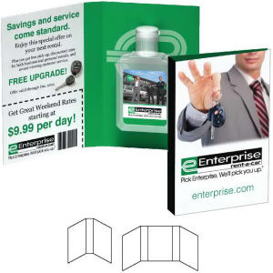 Fully customized booklet with