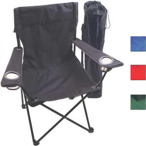 Folding chair with bag,