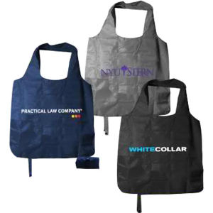 Polyester tote bag with