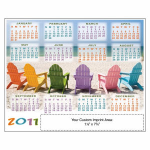 Promotional Magnetic Calendars-21405