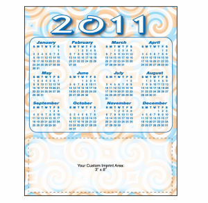 Promotional Magnetic Calendars-21403