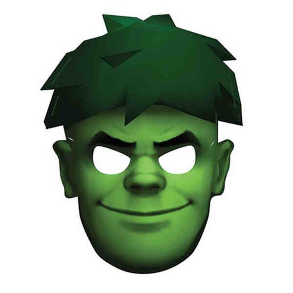 Custom shape mask with