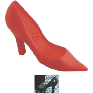 Shoe shaped doorstop.