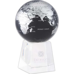 World globe that gently