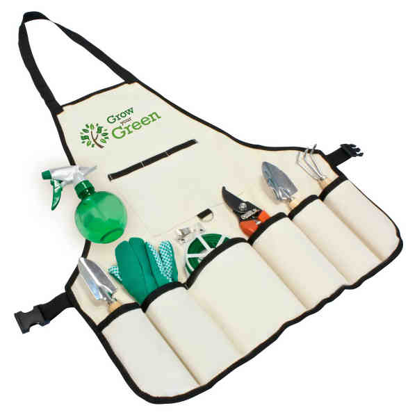 8 pc garden apron