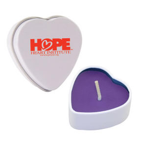 Promotional Candles-HTC01PU-HEART