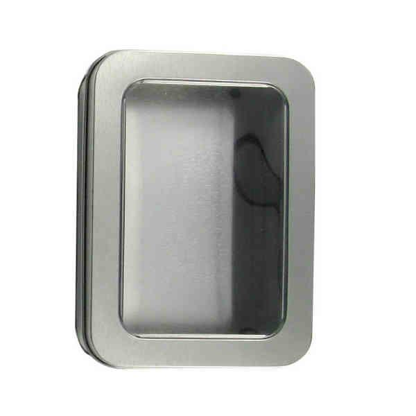 Metal window tin with