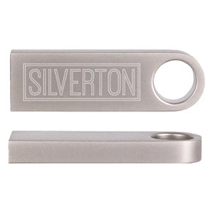 Promotional USB Memory Drives-Silverton512MB