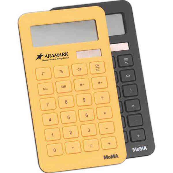 Eco-friendly calculator.