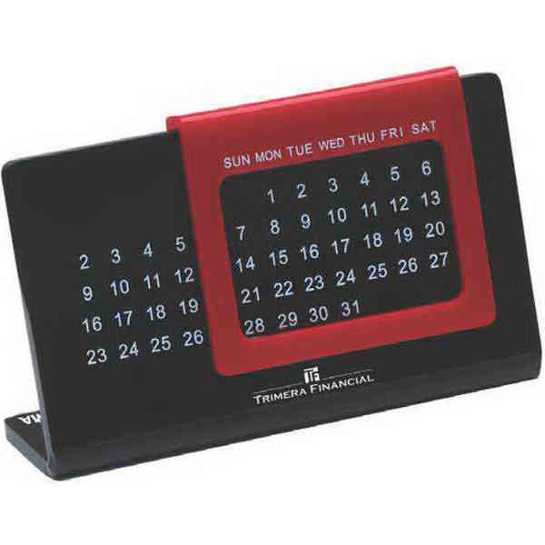 Acrylic perpetual calendar with