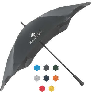 Umbrella featuring an unflappable