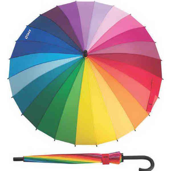 24-panel umbrella.