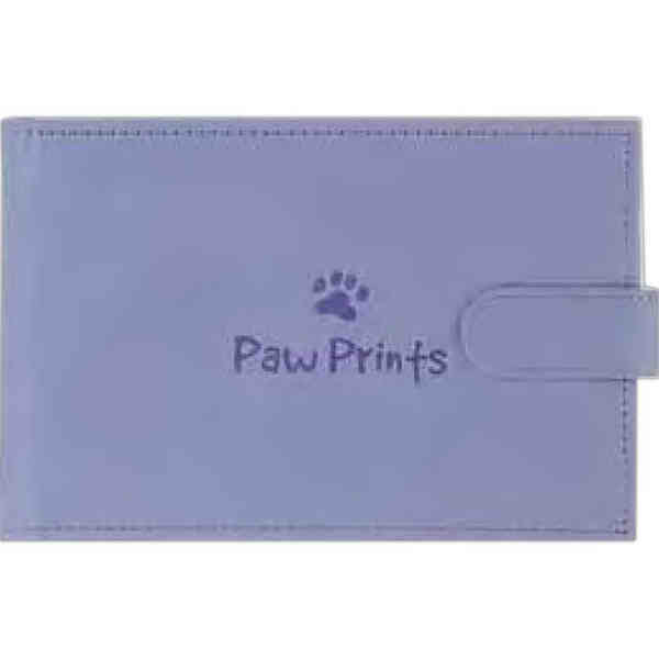 Hardcover portable Paw Prints
