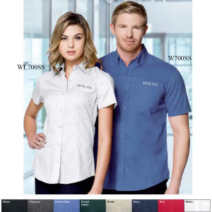 Promotional Button Down Shirts-WL700SS