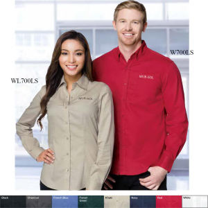 Promotional Button Down Shirts-W700LS