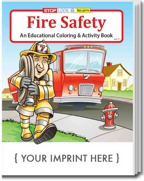 Fire Safety Educational coloring