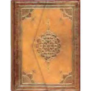 Arabesque Foldover Journal features