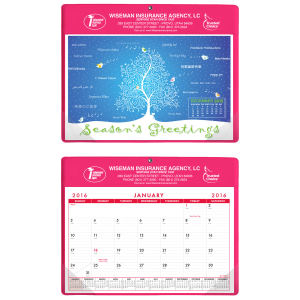 Promotional Wall Calendars-468NS