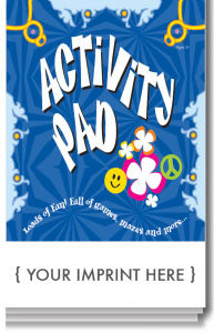 Activity pad with 16