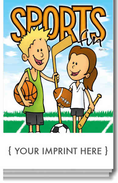 Sports Fun activity pad
