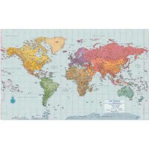 World Wall Map, 40