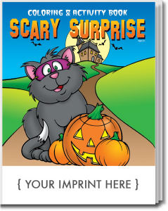 Scary Surprise Halloween coloring