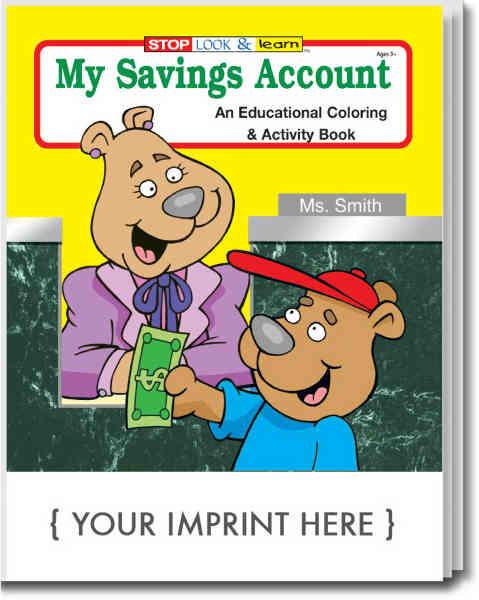 My Savings Account coloring