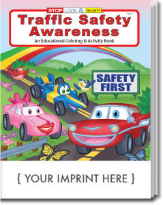 Traffic Awareness coloring book.